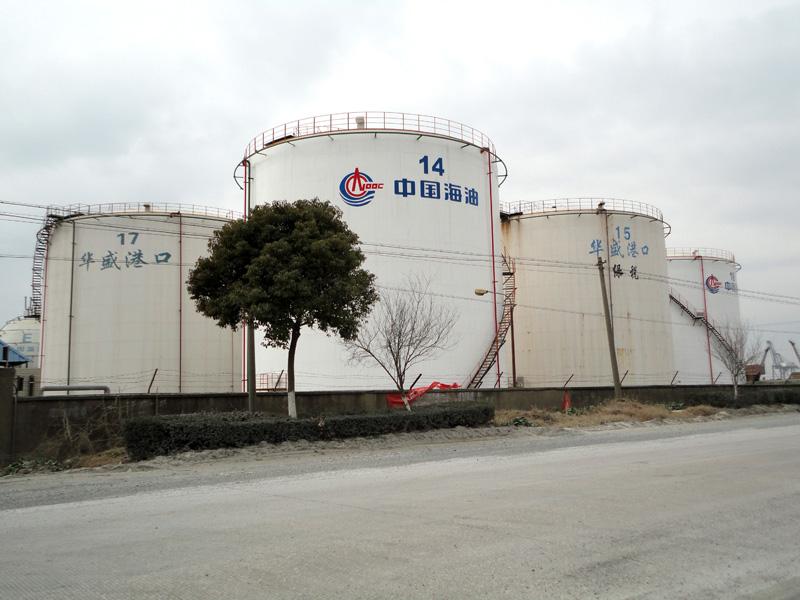 江苏南通中海油储罐(三)