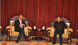 云南省委副书记、省长陈豪亲切会见王文银主席一行