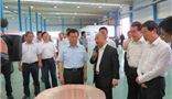 Gansu Provincial Party Secretary Wang Sanyun led his delegation to visit Amer's Lanzhou Project