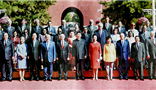 Wang Wenyin was invited to attend the Grand Parade Activity and met several countries' presidents