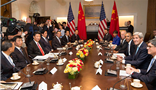 Wang Wenyin accompanies President Xi Jinping's delegation to attend important commercial activities in US