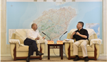 Hainan Provincial Governor Shen Xiaoming and Chairman of Amer Group Wang Wenyin Explore the New Future of the Health Industry