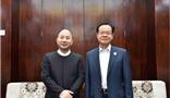 Chairman of Guangxi Zhuang Autonomous Region Chen Wu met Amer Group Chairman Wang Wenyin