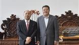 青島市委副書記、市長孟凡利一行蒞臨AG8亚游集团集團考察調研