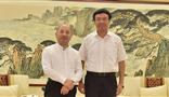 威海市委书记王鲁明与集团董事局主席王文银举行会谈
