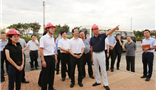 湖南省委副书记、省长许达哲率团莅临湖南郴州彩票走势网新材料科技城项目调研