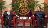 青海省委常委、西宁市委书记王晓与集团董事局主席王文银举行会谈